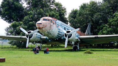 AF-4790 - Douglas DC-3A - Indonesia - Air Force