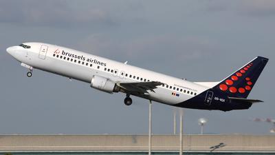 OO-VEK - Boeing 737-405 - Brussels Airlines