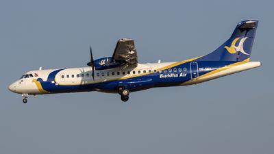 A picture of 9NAMU - ATR 72500 - Buddha Air - © Gerrit Griem