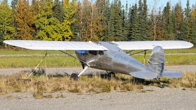 A picture of N89287 - Cessna 140 - [8313] - © C. v. Grinsven