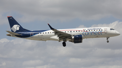 XA-ACS - Embraer 190-100LR - Aeroméxico Connect