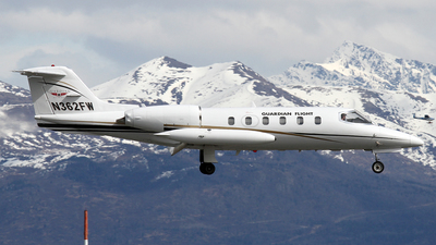 N362FW - Bombardier Learjet 35A - Guardian Flight
