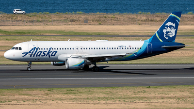 A picture of N835VA - Airbus A320214 - Alaska Airlines - © Yan777