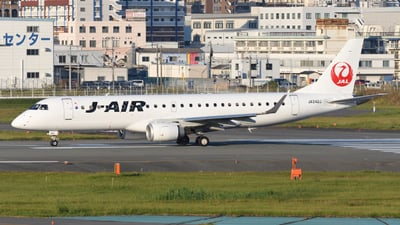 A picture of JA242J - Embraer E190STD - Noble Air Charter - © HIroki Manabe