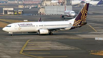 VT-TGH - Boeing 737-8AL - Vistara
