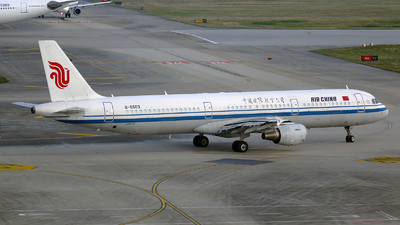 B-6603 - Airbus A321-213 - Air China