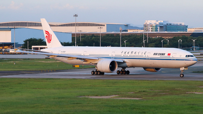 B-2087 - Boeing 777-39LER - Air China