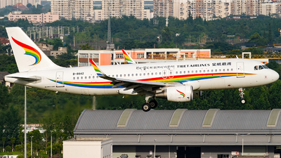 B-8842 - Airbus A320-214 - Tibet Airlines