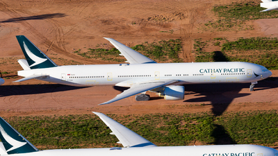 A picture of BKQO - Boeing 777367(ER) - Cathay Pacific - © Joel Baverstock