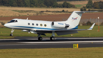 A picture of N992NA - Gulfstream III - [309] - © Ian Howat