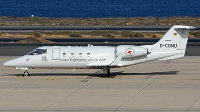 A picture of DCONU - Learjet 55 -  - © Alejandro Hernández León