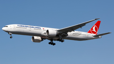 A picture of TCLJA - Boeing 7773F2(ER) - Turkish Airlines - © Chris Pitchacaren