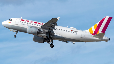 A picture of DAKNM - Airbus A319112 - Germanwings - © marfi80