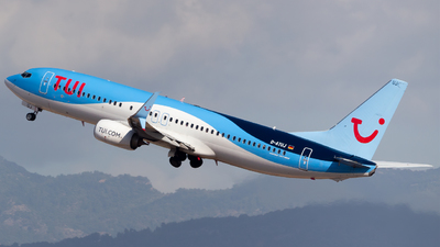 A picture of DATUJ - Boeing 7378K5 - TUI fly - © Ismael Lopez - PMI Plane Spotting