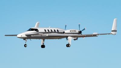 N723SC - Beechcraft 2000A Starship - Private