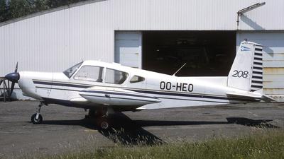 OO-HEO - SIAI-Marchetti S208 - Private