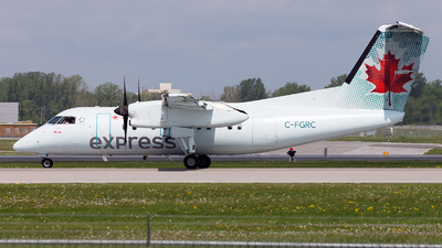 C-FGRC - Bombardier Dash 8-102 - Air Canada Express (Jazz Aviation)