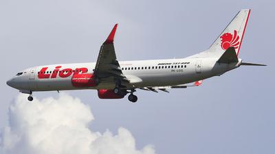 PK-LOG - Boeing 737-8GP - Lion Airlines