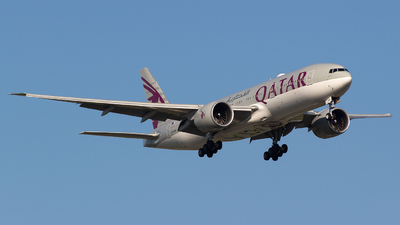 A7-BBE - Boeing 777-2DZLR - Qatar Airways