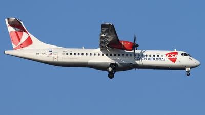 A picture of OKGFQ - ATR 72500 - Czech Airlines - © AL-Alan Lebeda