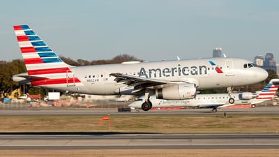 N802AW - Airbus A319-132 - American Airlines