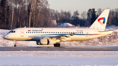 A picture of RA89118 - Sukhoi Superjet 10095B - Severstal Aircompany - © Sergey Popkov