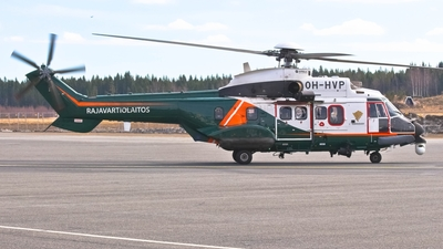 OH-HVP - Aérospatiale AS 332L1 Super Puma - Finland - Frontier Guard
