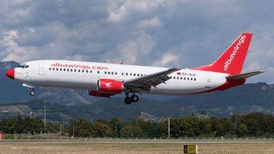 ZA-ALC - Boeing 737-4Q8 - Albawings