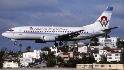 N168AW - Boeing 737-33A - America West Airlines