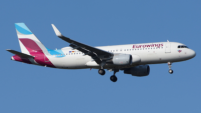 A picture of DAEWT - Airbus A320214 - Eurowings - © Luca Cesati