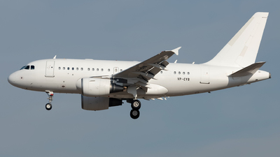 VP-CYB - Airbus A318-112(CJ) Elite - Business Aviation Asia