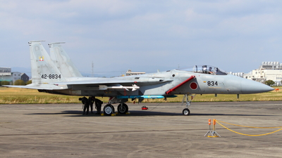 42-8834 - McDonnell Douglas F-15J Eagle - Japan - Air Self Defence Force (JASDF)