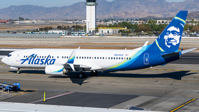 N523AS - Boeing 737-890 - Alaska Airlines