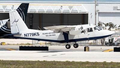 A picture of N779KS - BrittenNorman BN2A27 Islander - [779] - © Degupukas