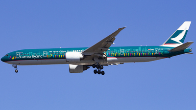 B-KPB - Boeing 777-367ER - Cathay Pacific Airways