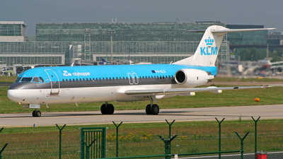 PH-KLE - Fokker 100 - KLM Cityhopper