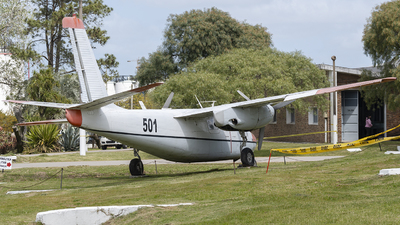 FAU501 - Rockwell 500S Shrike Commander - Uruguay - Air Force