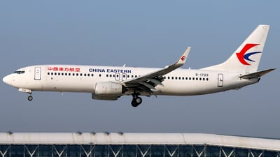 B-1723 - Boeing 737-89P - China Eastern Airlines