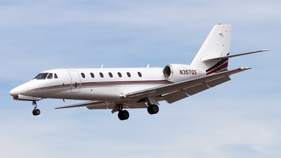 N357QS - Cessna 680 Citation Sovereign - NetJets Aviation