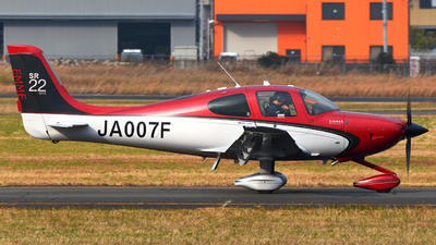 A picture of JA007F - Cirrus SR22 GTS - [3943] - © Claire.GC8