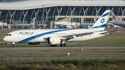 A picture of 4XERA - Boeing 7878 Dreamliner - El Al - © Ken Chen