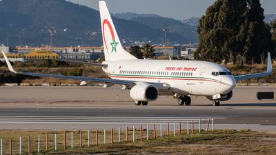 A picture of CNROD - Boeing 7377B6 - Royal Air Maroc - © José M Deza