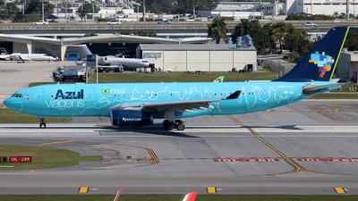A picture of PRAIU - Airbus A330243 - Azul Linhas Aereas - © Raul Sepulveda Merced