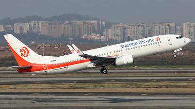 B-5181 - Boeing 737-8FH - OK Air