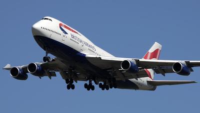 G-BNLL - Boeing 747-436 - British Airways
