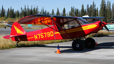 N7579D - Piper PA-18-150 Super Cub - Private