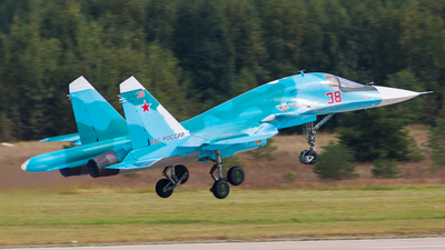 38 - Sukhoi Su-34 Fullback - Russia - Air Force