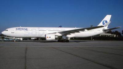 OO-SFM - Airbus A330-301 - Sabena