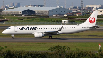 JA244J - Embraer 170-100STD - J-Air