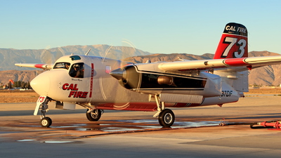 N437DF - Grumman S-2F3AT Turbo Tracker - United States - California Department of Forestry